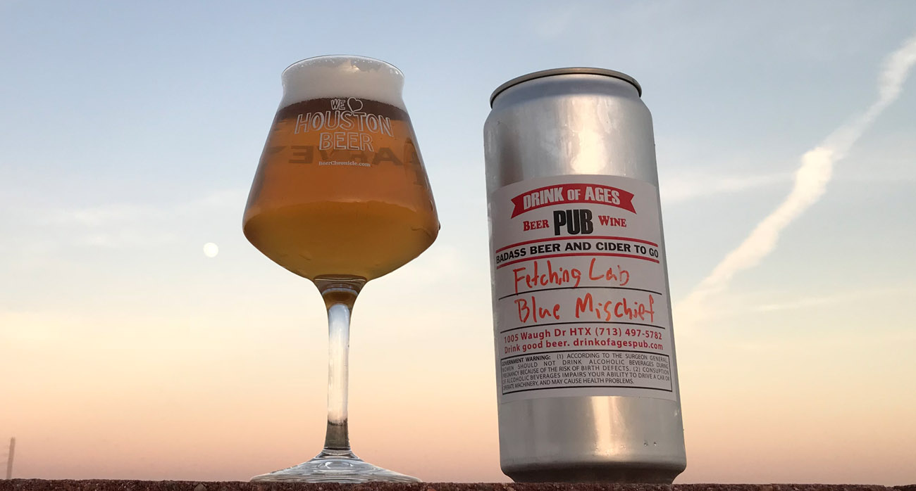Beer-Chronicle-Houston-Beer-fetching-lab-blue-mischief-cream-ale-crowler