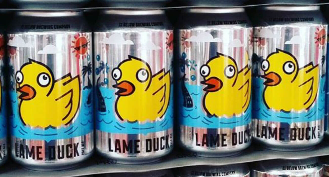 Beer-Chronicle-Houston-Craft-Beer-Review-11-Below-Lame-Duck-Cans-In-A-Row