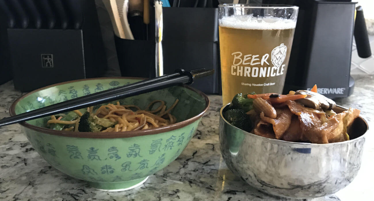 Beer-Chronicle-Houston-Craft-Beer-Review-5-OClock-Pils-Beer-Behind-Asian-Food