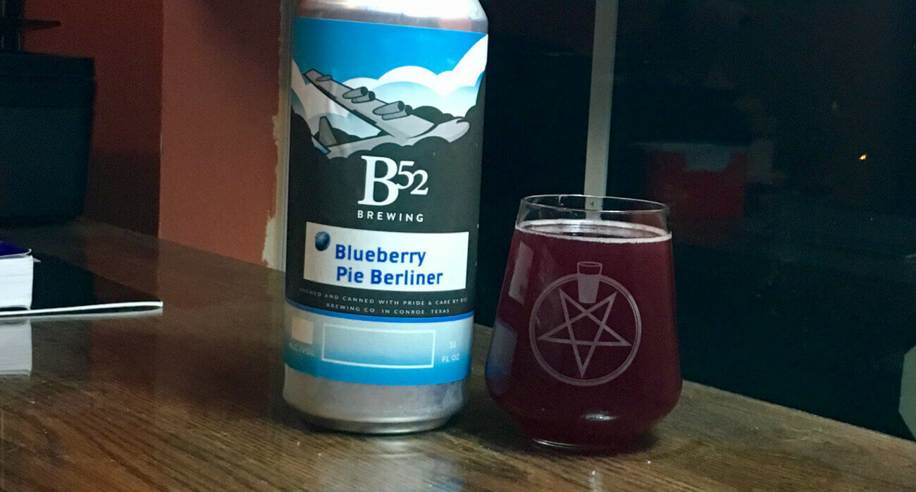 Beer-Chronicle-Houston-Craft-Beer-Review-B-52-Blueberry-Pie-Berliner-Crowler-Next-To-Full-Glass