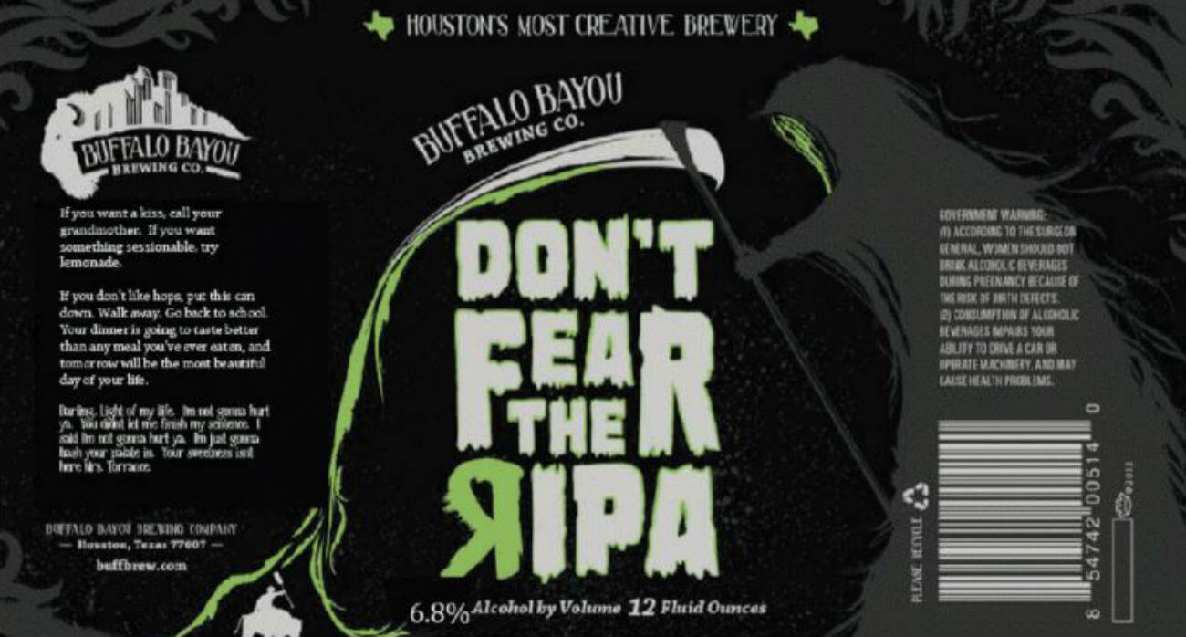 Beer-Chronicle-Houston-Craft-Beer-Review-Dont-Fear-The-RIPA-Label