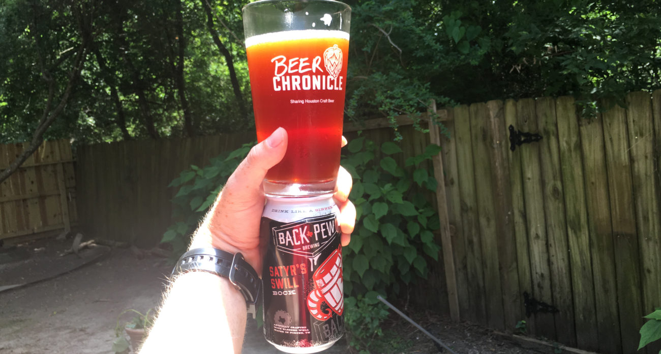 Beer-Chronicle-Houston-Craft-Beer-Review-Back-Pew-Brewing-Satyr's-Swill-Bock