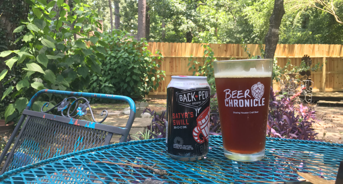 Beer-Chronicle-Houston-Craft-Beer-Review-Featured-Back-Pew-Brewing-Satyr's-Swill-Bock-Can