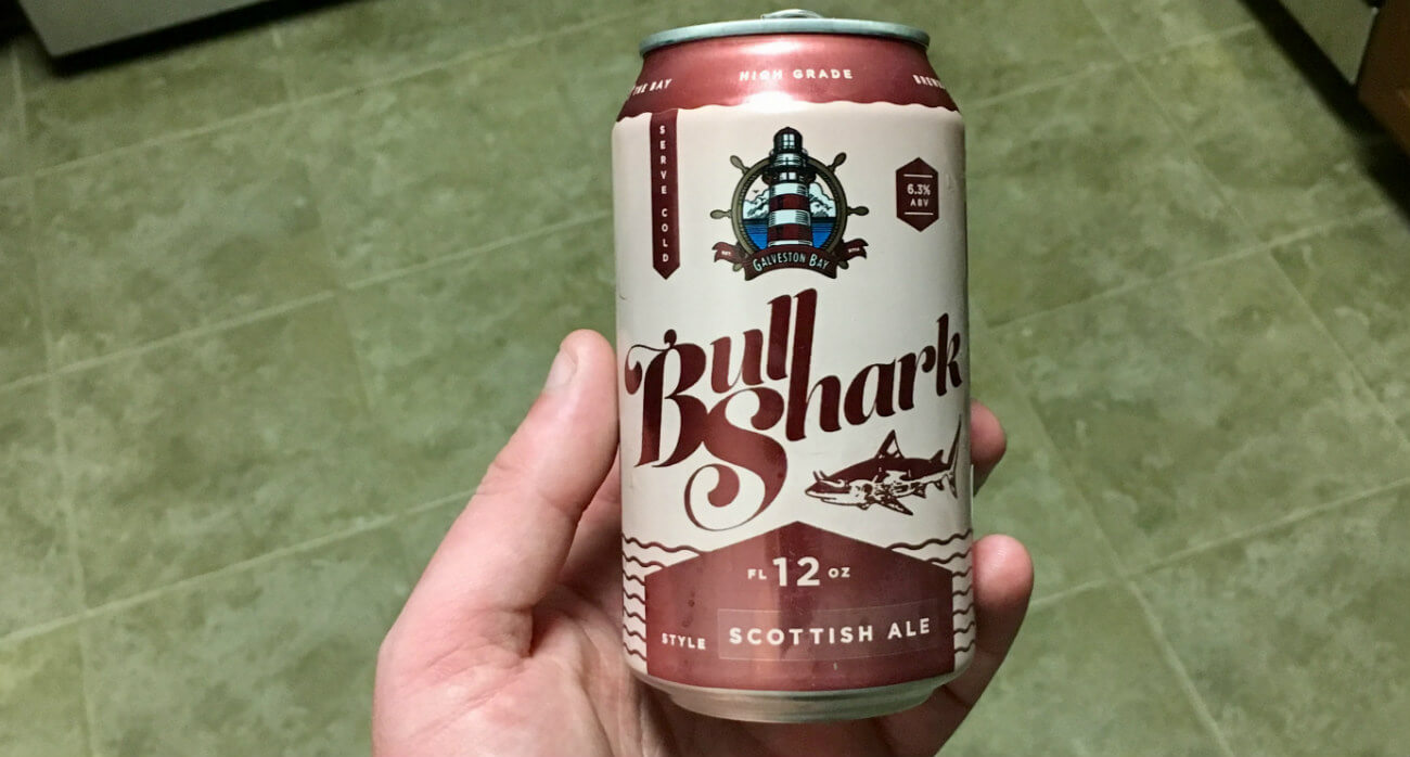 Beer-Chronicle-Houston-Craft-Beer-Review-Galveston-Bay-Beer-Bull-Shark-Can-In-Hand