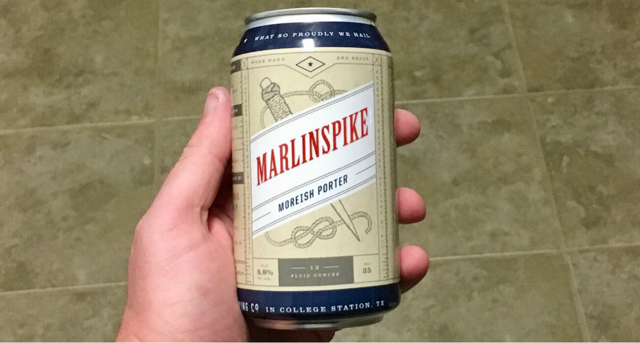 Beer-Chronicle-Houston-Craft-Beer-Review-New-Republic-Marlinspike-Can-In-Hand