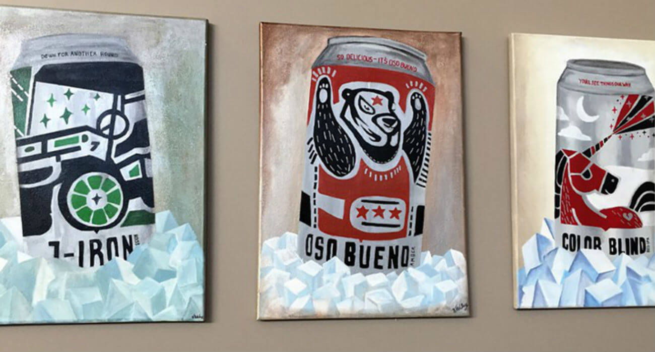 Beer-Chronicle-Houston-Craft-Beer-Review-Oso-Bueno-Paintings