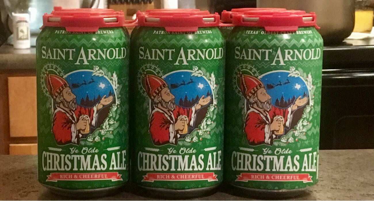 St Arnolds Christmas Ale 2020 Christmas Ale   St. Arnold   Beer Chronicle   Houston Craft Beer