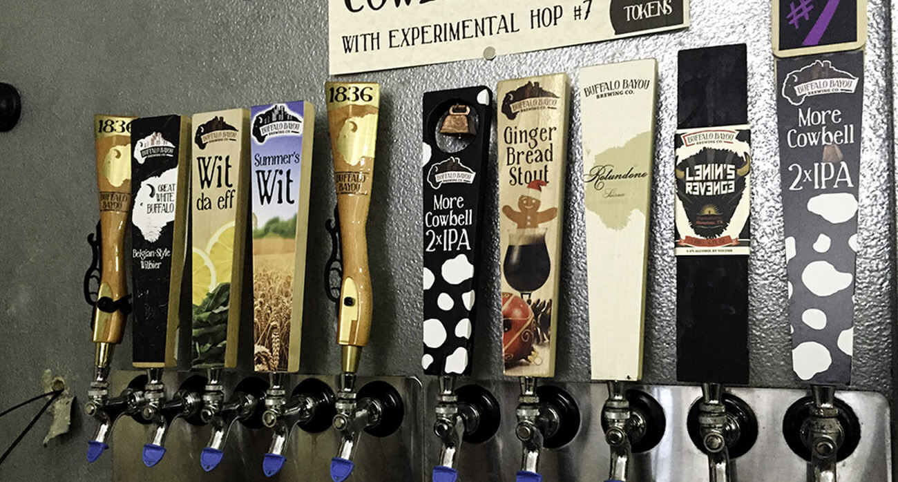 beer-chronicle-houston-craft-beer-review-buffalo-sunset-beer-buffalo-bayou-brewing-tap-handles