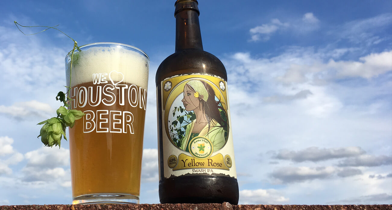 beer-chronicle-houston-craft-beer-review-lone-pint-yellow-rose-ipa-500-ml-bottle