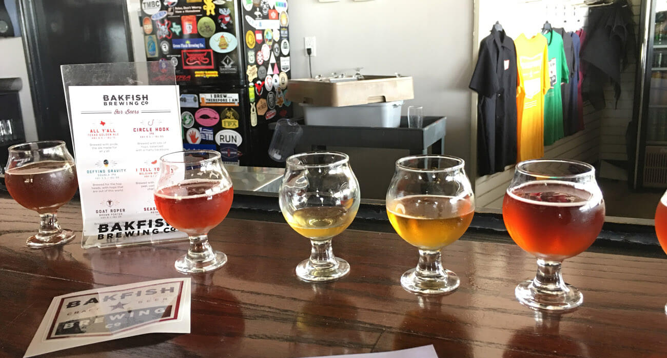 Beer-Chronicle-Houston-Craft-Beer-bakfish-brewing-taster-flight