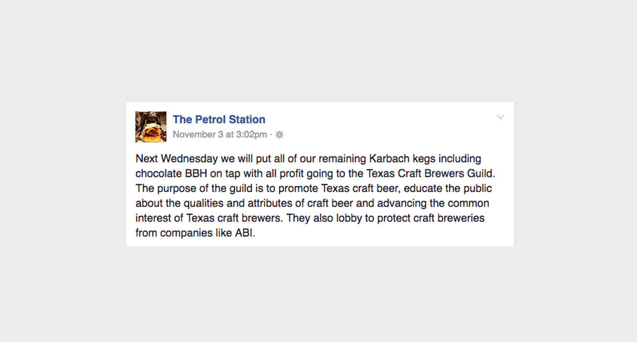 beer-chronicle-houston-craft-beer-karbach-sellout-memes-petrol-station