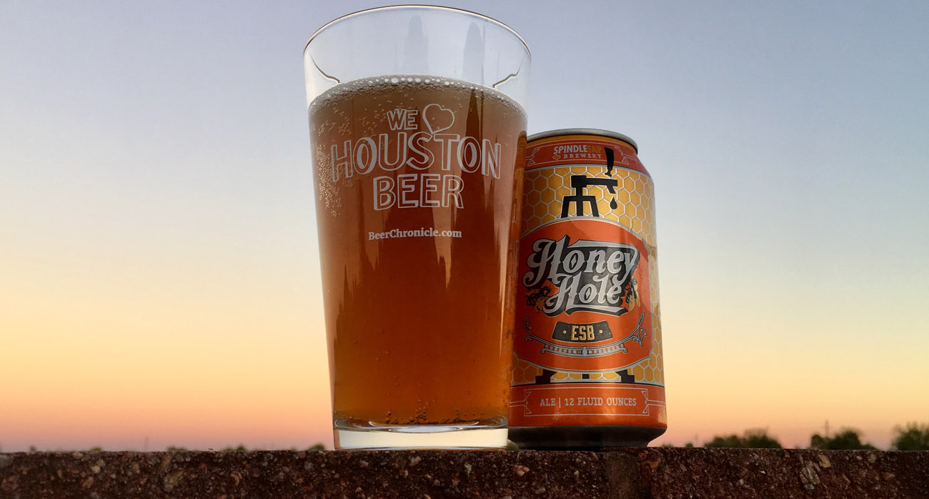 beer-chronicle-houston-craft-beer-spindletap-honey-hole-esb-beer