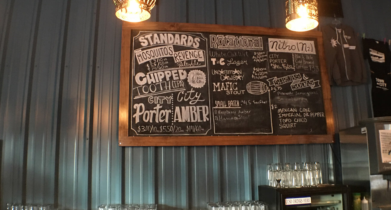 Beer-Chronicle-Houston-Craft-Beer-town-in-city-brewing-chalk-tap-board